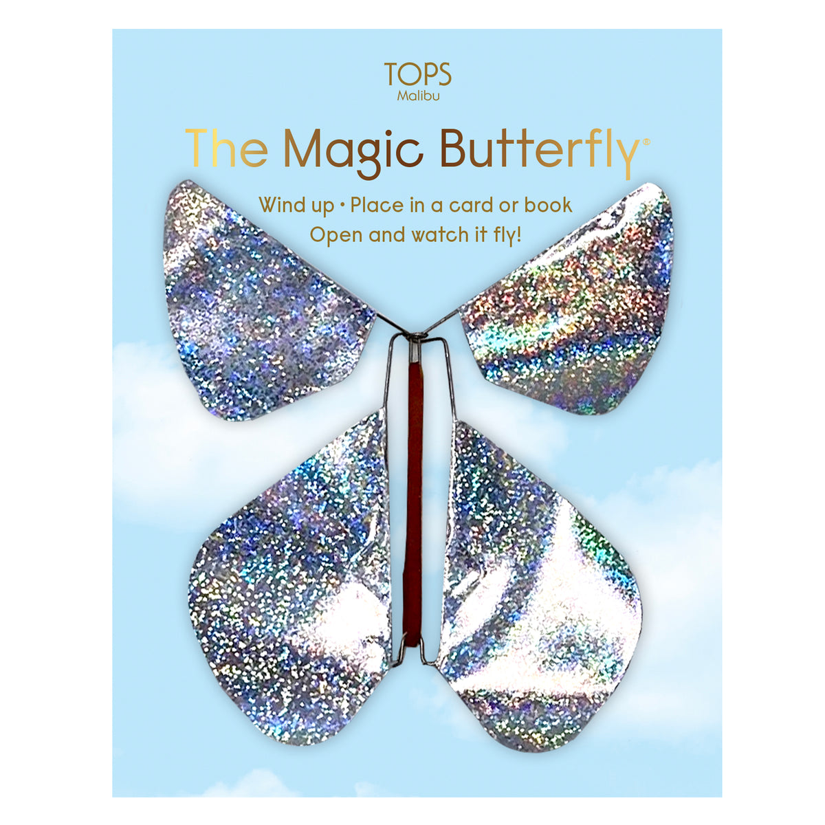 Flying Magic Butterfly - Holographic Glitter