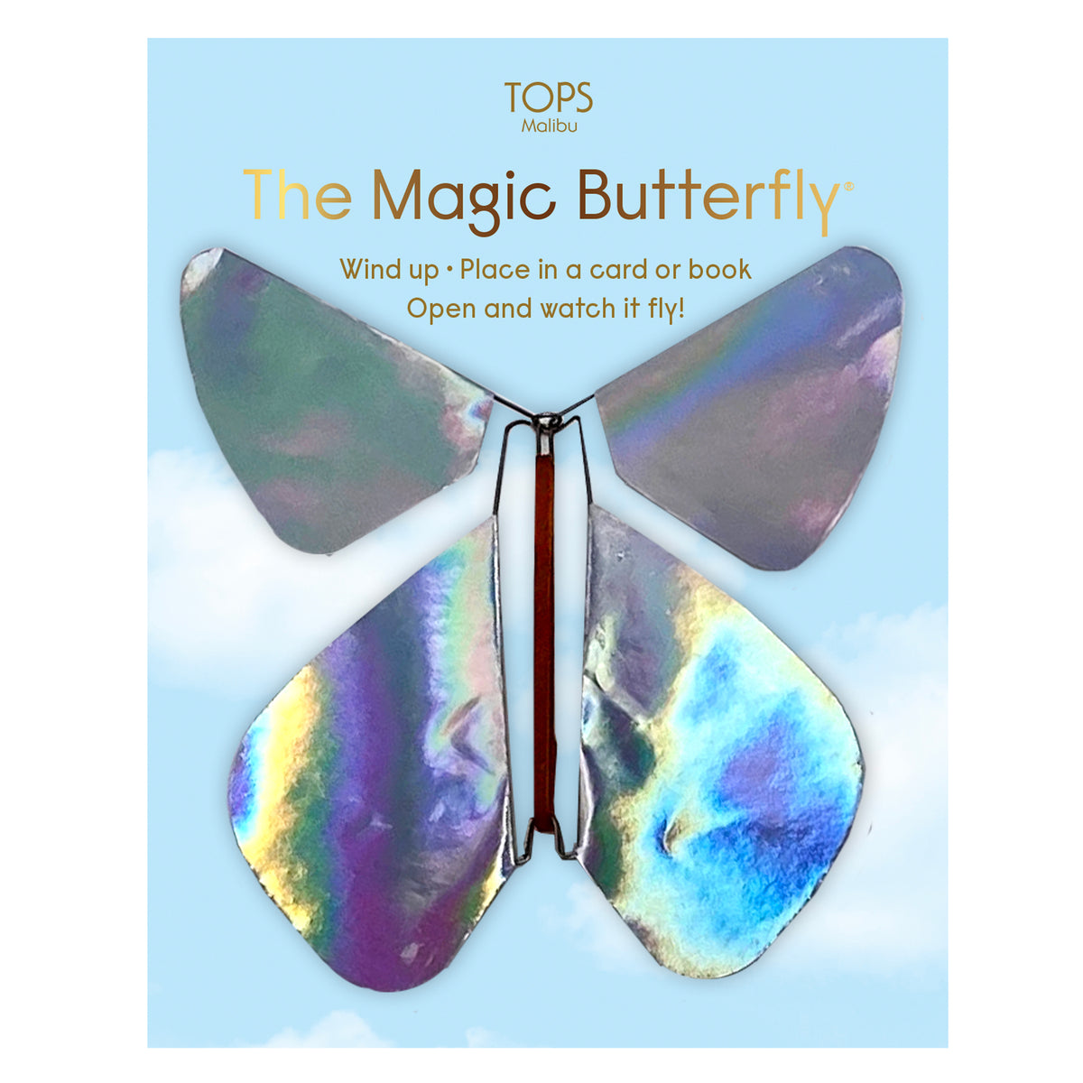 Flying Magic Butterfly - Holographic Rainbow