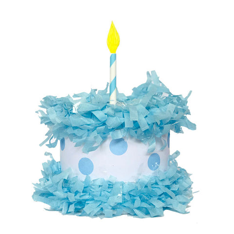 Blue Cake Mini Tabletop PIÑATA