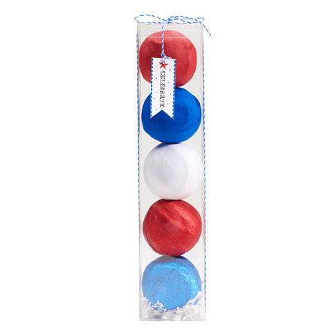Mini 4th of July Surprize Balls (Box includes 5)