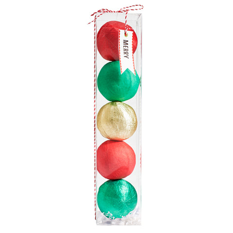 Mini Christmas Surprize Balls (Box includes 5)