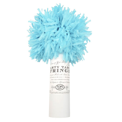 Party Table Fringe Lt. Blue