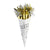 Party Horn Bouquet Gold & Silver mylar