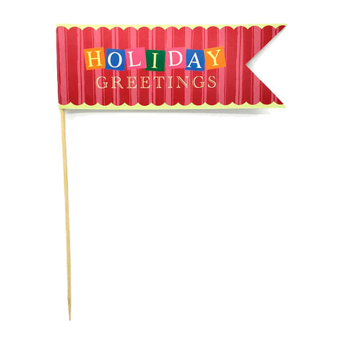 Holiday Greetings Pennant