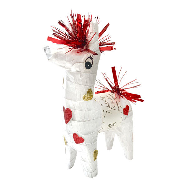 Mini Tabletop Love Llama Piñata