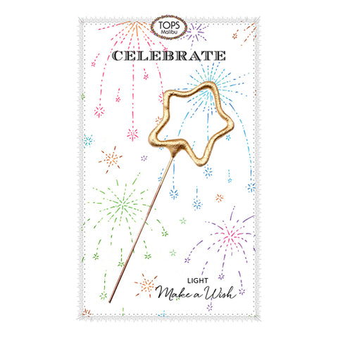 Sparkler Card Celebrate! Starburst