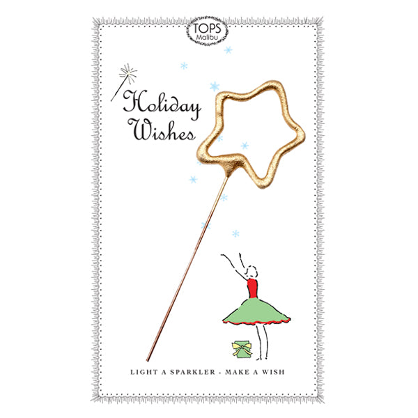 Sparkler Card Holiday Wish