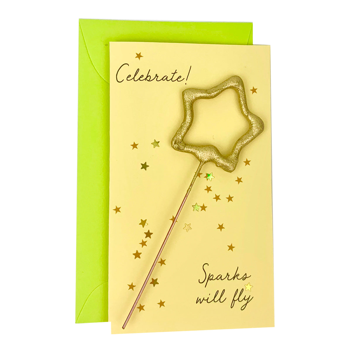 Confetti Sparkler Cards Celebrate!
