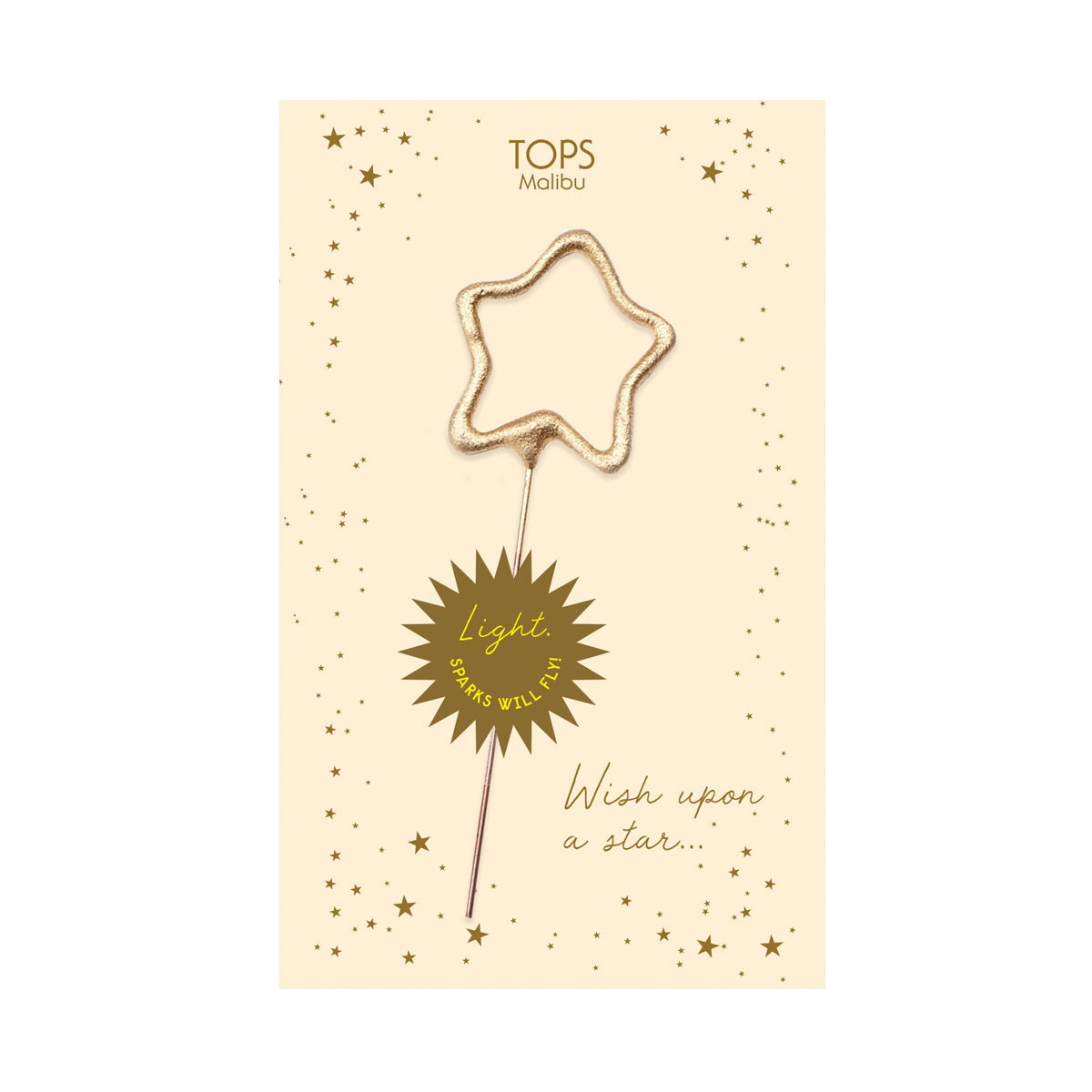 Sparkler Card Wish Upon a Star