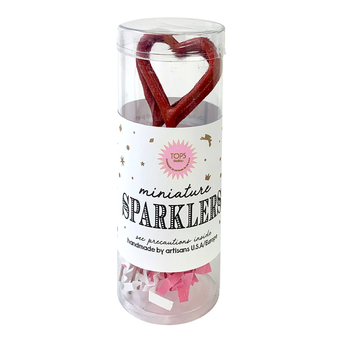 Mini Red Sparklers Heart
