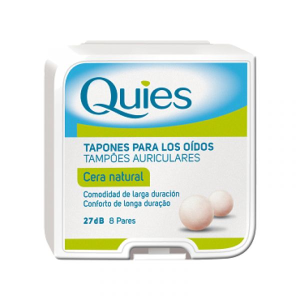 Quies Protecções Auditivas Tampão Auric Cera Natural 16