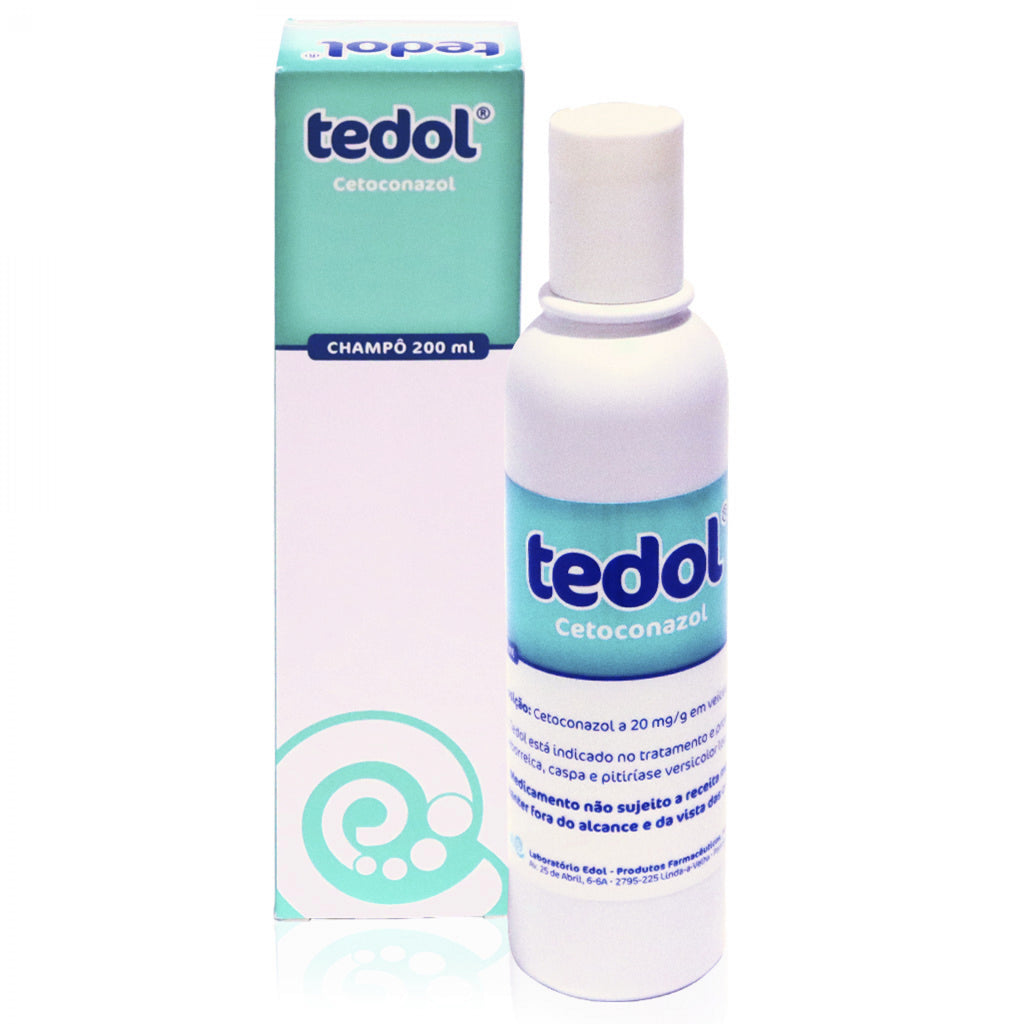 Tedol 20 mg/g champô - Frasco 200 ml