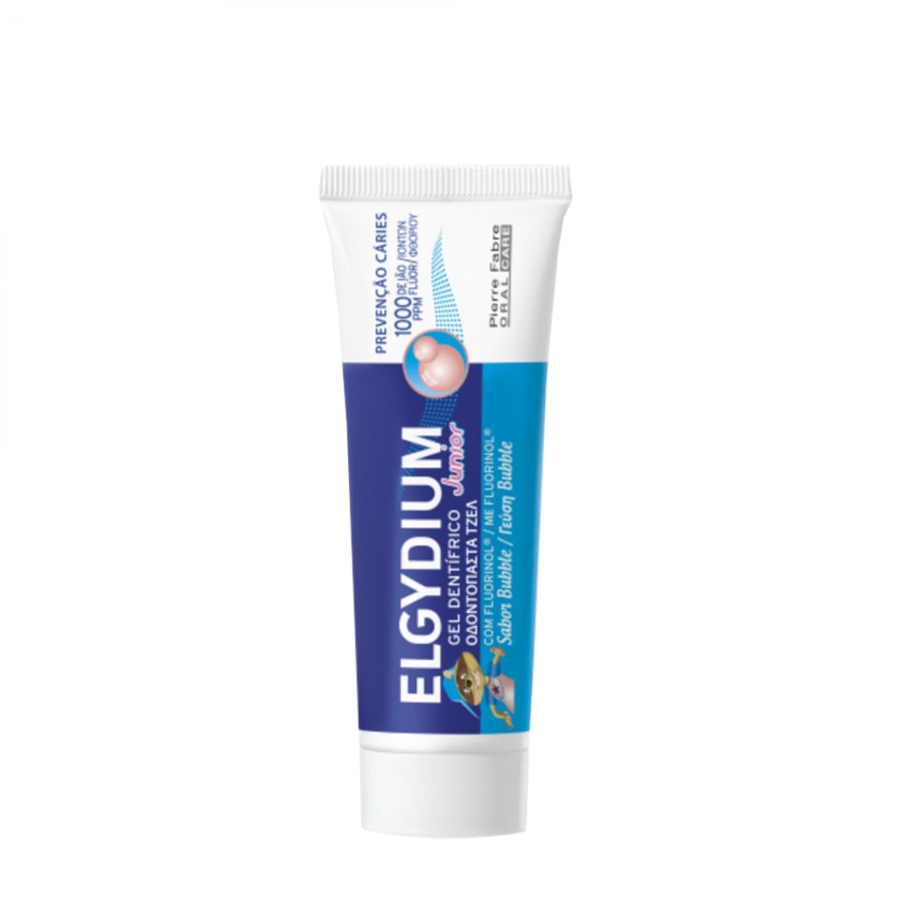 Elgydium Gel dentífrico Júnior Bubble - 50 ml