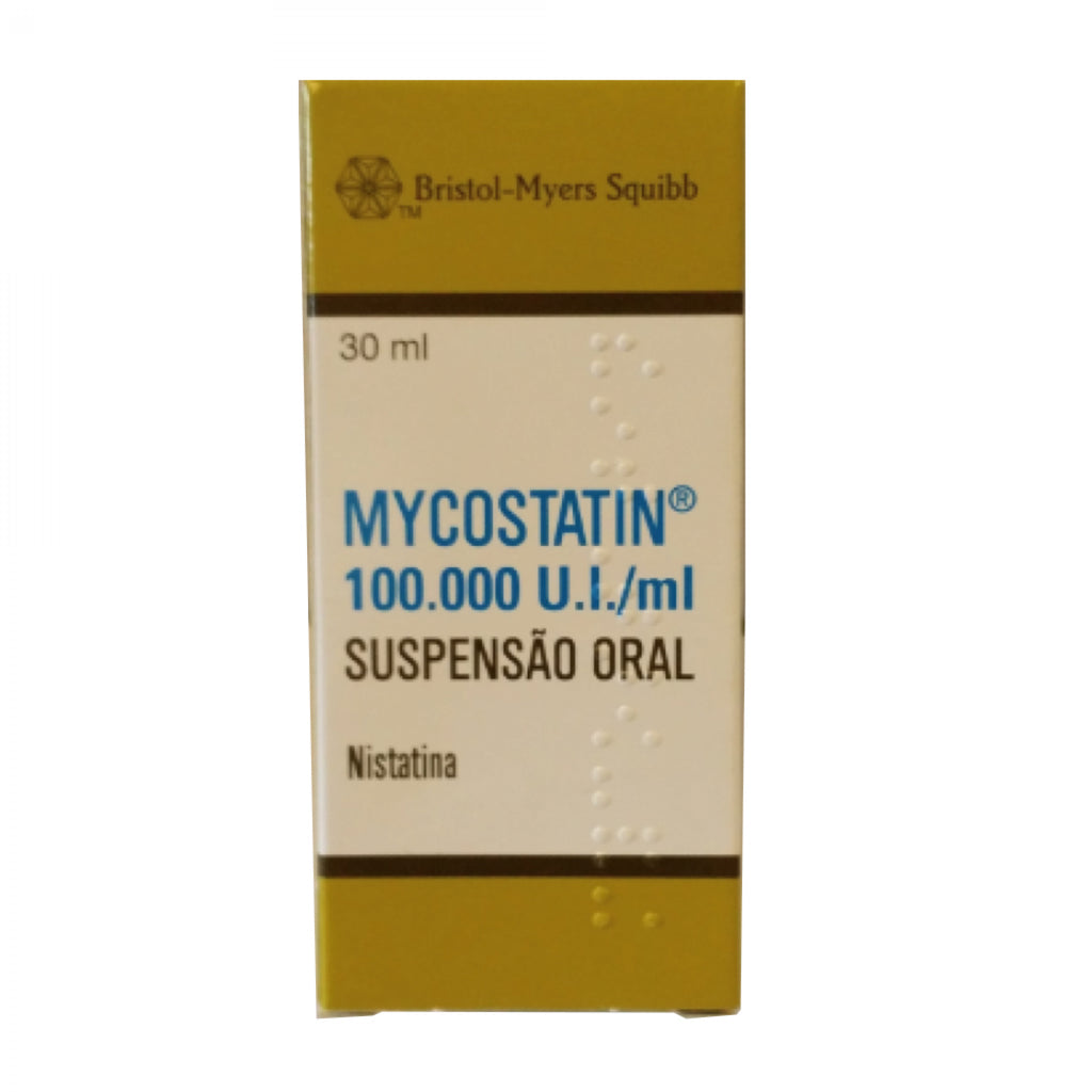 Mycostatin 100.000 U.I./ml Suspensão Oral - 30 ml