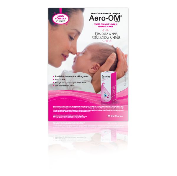 Aero-OM Emulsão Oral Pediátrico 105mg/ml 25ml