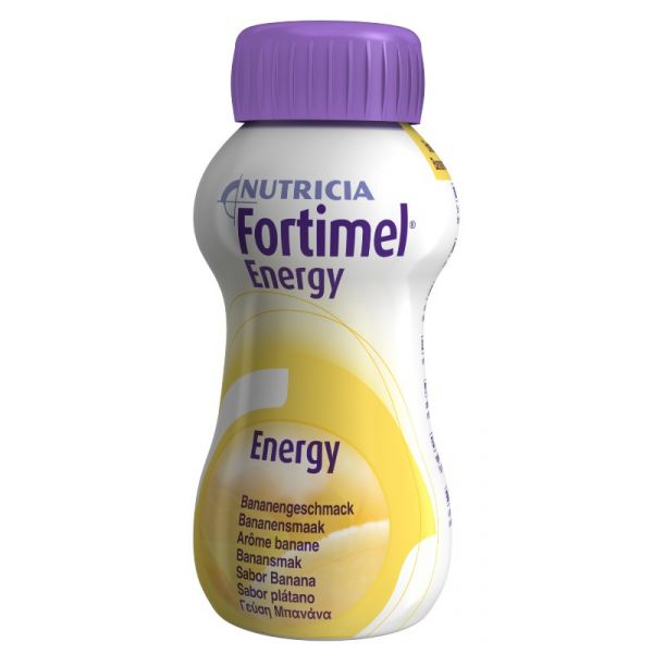 Fortimel Energy Sol Oral Banana 4x200ml
