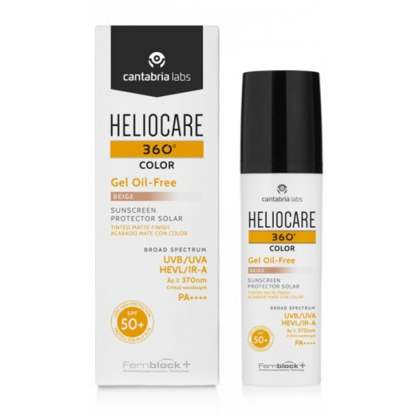 Heliocare 360 Color Gel Oil-Free SPF50+ Beige 50ml