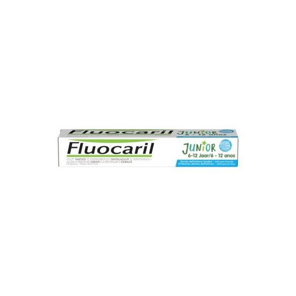 Fluocaril Junior Gel Dent Pastilha Elástica 6-12 Anos 75ml