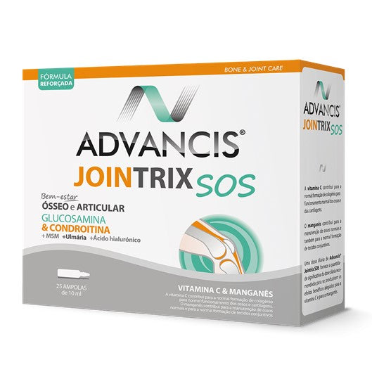Advancis Jointrix SOS 25 Ampolas Pharmascalabis