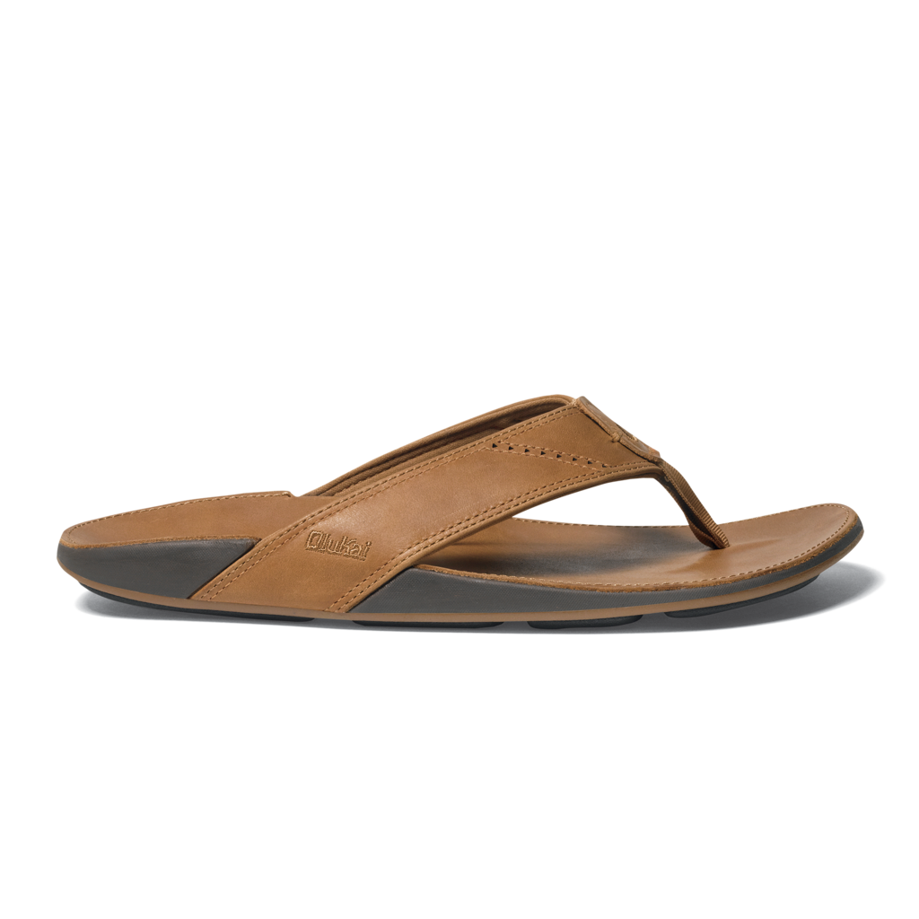 Olukai Nui Men's Leather Beach Sandals