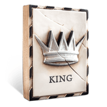 "Load image into Gallery viewer, Sid Dickens Memory Block ""King (Silver)"""