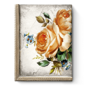 "Sid Dickens Memory Block ""Sunset Rose"""