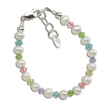 Load image into Gallery viewer, Daniela - Sterling Silver Multi-color Pearl Bracele