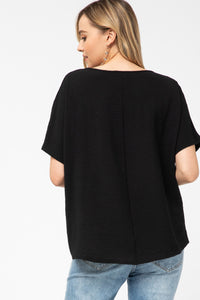 Entro Basics V-Neck Top