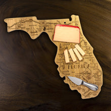 Load image into Gallery viewer, Destination Florida Bamboo Cutting Board