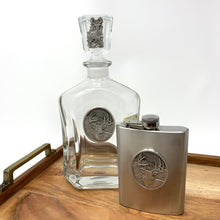Load image into Gallery viewer, Heritage Pewter Deer Decanter