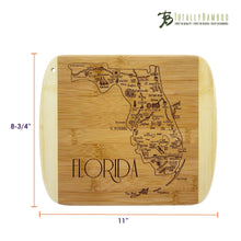 Load image into Gallery viewer, Slice of Life Florida Bamboo Board
