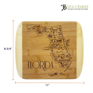 Slice of Life Florida Bamboo Board