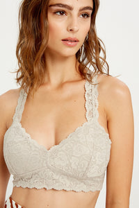 Wishlist Padded Lace Bralette