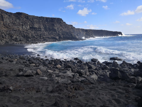 Lanzarote - black beach