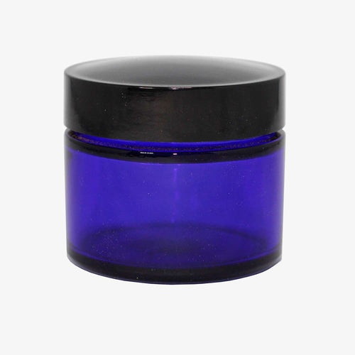 Glass Jar Cobalt - MrSnuff