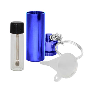 Screw Top Jar with Telescopic Spoon - MrSnuff