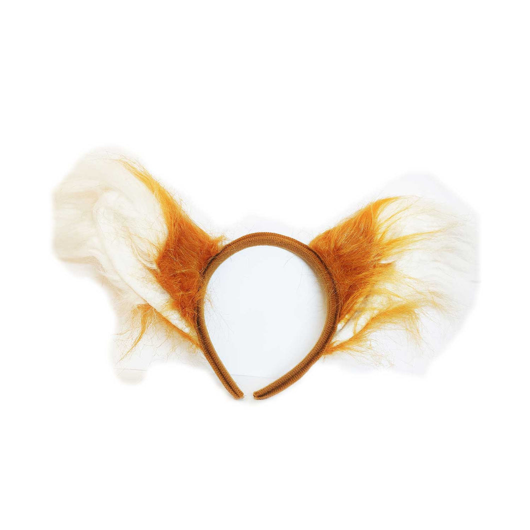 White Fox Headband