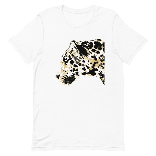 Amur Leopard Endangered Animal Premium Short-Sleeve Unisex T-Shirt - Sacred Monkey