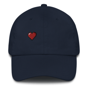 Have a Heart Embroidered Unisex Baseball Cap