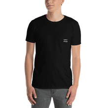 Load image into Gallery viewer, Better Design Basic Short-Sleeve Unisex Plain Black Tee