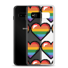 Load image into Gallery viewer, Pixel Pride See-Through Samsung Case - Sacred Monkey