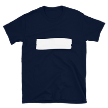 Load image into Gallery viewer, Better Design Stripe Short-Sleeve Unisex Plain Black/Navy/White Tee