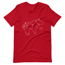 Load image into Gallery viewer, Mythic Bear (Otso) Premium Short-Sleeve Unisex T-shirt - Sacred Monkey