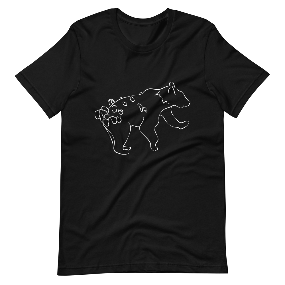 Mythic Bear (Otso) Premium Short-Sleeve Unisex T-shirt - Sacred Monkey