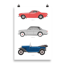 Load image into Gallery viewer, Volvo Trinity Enhanced Matte Poster