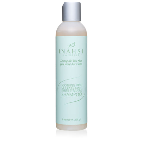 Soothing Mint Sulfate Free Gentle Cleansing Shampoo