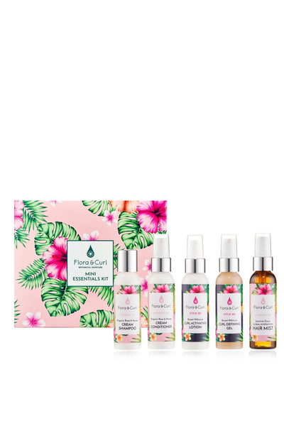 Flora & Curl Mini Essentials Kit