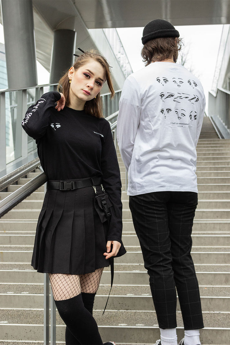 kaomoji-emotional-long-sleeve-l-s28