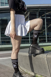 kaomoji-winky-face-socks-black-3