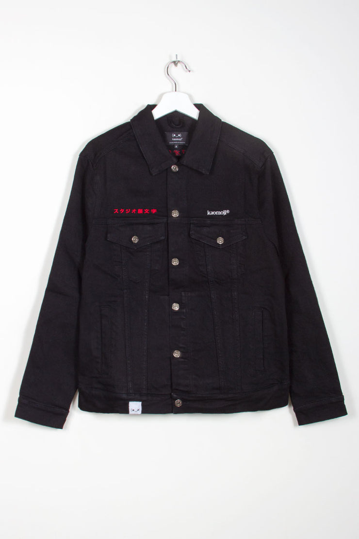 studio-kaomoji-denim-jacket-front
